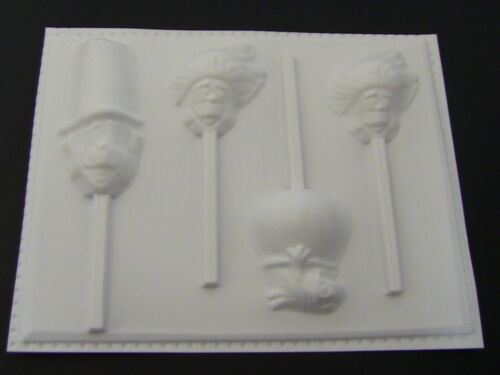 CAT in the HAT Thing 1 2 FISH Lollipop HARD Candy Mold