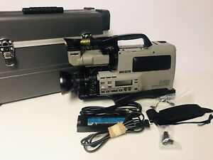 PANASONIC-AG-460-S-VHS-Amorphous-Pro-Head-Camcorder-w-Case-AS-IS
