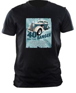 Lustig 40 Jahr Old Banger Klassisches Auto Motiv Fur 40 Geburtstag