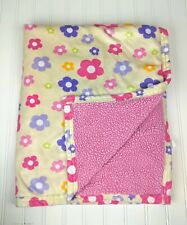 BABY BLANKET BEANSPROUT HIPPO HOT PINK GREEN GIRL BOW 3-D LEGS ARMS SOFT SWADDLE