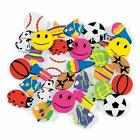 24 x Mini Assorted..Erasers...Rubbers...Party Favours..Loot Bag..Stocking Filler