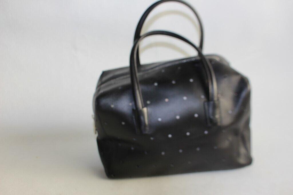 Bally handbag leather black (41128)-show original title