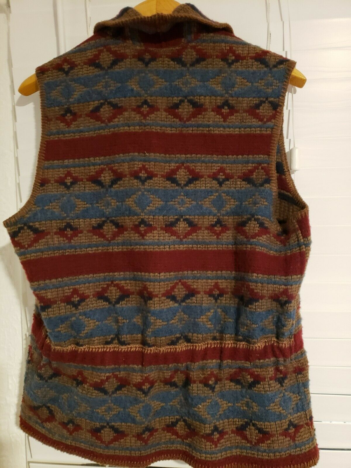 Vintage Woolrich John Rich Bros Southwestern wool… - image 3
