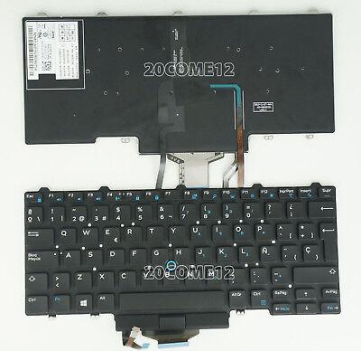 New Genuine Dell Latitude 5480 5490 7480 7490 Spanish Espanol Keyboard Teclado