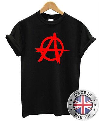 2019 Nuovo Stile Anarchy T-shirt S-xxl Uomo Donna Anarchico Rebel Rosso Verde Bianco Garanzia Al 100%