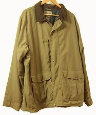 LL Bean Nylon Men's Sports XL Jacket Coat with inside pouch storage pocket