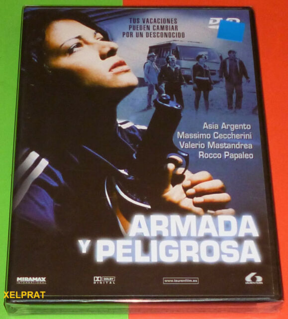 ARMADA Y PELIGROSA Asia Argento -DVD R2- Precintada