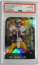 RAREST 2000 TOM BRADY ROOKIE PSA 10 IN THE WORLD S/N 05/10 POP 1 ELITE STATUS