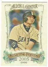 2015 Topps Allen and Ginter Starting Points #SP-88 Shin-Soo Choo Mariners