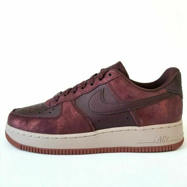 Size 8 - Nike Air Force 1 Low '07 Premium Burgundy Crush 2019 for ...