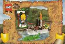 LEGO 7410 Adventurers: Orient Expedition - Jungle River - 2003 - NO BOX