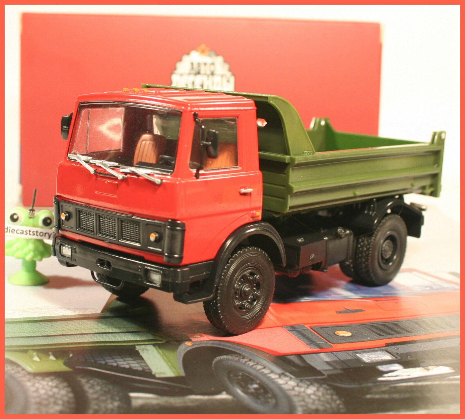 1 43 MAZ 5551 Kipper russian DeAgostini Magazin Nr.31 LKW USSR UdSSR DDR