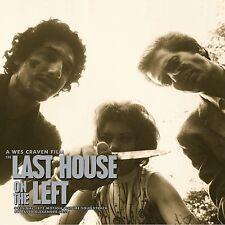 LAST HOUSE ON THE LEFT - LIMITED 1400 - BLACK VINYL - OOP - DAVID HESS