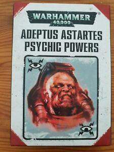 40k Adeptus Astartes pouvoirs psychiques cartes-afficher le titre d`origine 43erpQCY-08151052-652222816