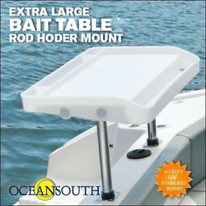 Image Is Loading Large Fillet Bait Table Rod Holder Mount Boat