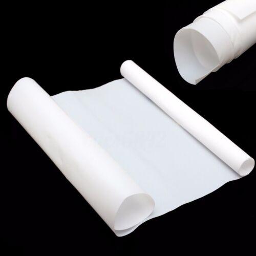White  PTFE Film//Sheet Virgin High Strength Temperature Craft Tool 500x250x0.3mm