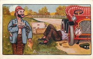 C-Ryan-034-Accidents-Will-Happen-034-Fellow-Under-Vintage-Auto-Hobo-Steals-Lunch-More