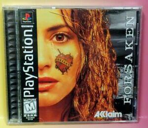 Forsaken  ~ Playstation 1 2 PS1 PS2 Game Nice Clean Disc Complete 1 Owner