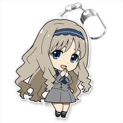 Acrylic Key Chain Anime Manga NEW Darling in the Franxx Kokoro Puni Colle