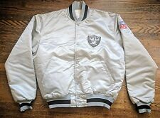 Oakland Raiders Vintage Starter Jacket Satin L EUC NFL Las Vegas