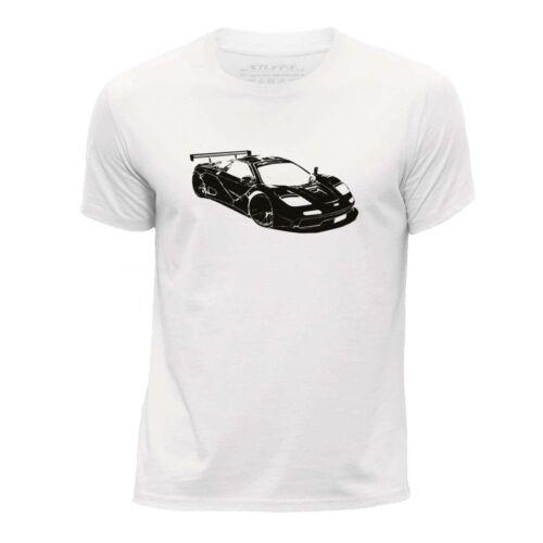 F1 GTR LM//SZ STUFF4 Boy/'s White Round Neck T-Shirt//Stencil Car Art