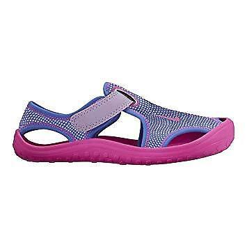 d49ec0d6cf81 Nike Sunray Protect PS Purple Pink Preschool Boys Girls Sandals 903633-500  UK 13.5 for sale online