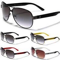 New Racing Cycling Men Sport Aviator Sunglasses Driving Running Black White Red