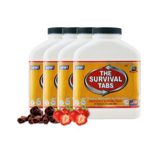4 X 180-Tab STR Cho Nutrition remplacement Walking Dead Zombie Préparation Alimentaire