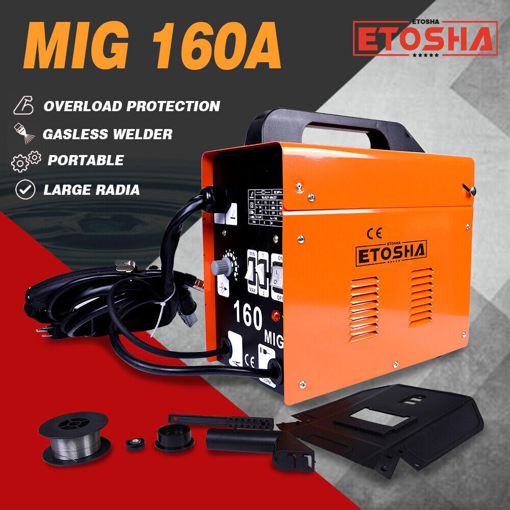 USEB-WM001 shopkeeper-usa 160A MIG Electric Welder Inverter Welding Machine 110V AC Flux Core Wire Gasless