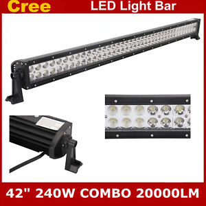 42INCH-240W-LED-LIGHT-BAR-COMBO-4WD-DRIVING-LAMP-JEEP-FORD-UTE-OFFROAD-SUV-40-44