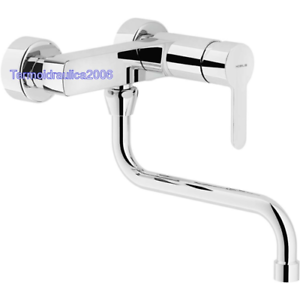 Mixer Stainless Steel Swivel  Brushed Finish 40mm Cartridg for kitchen