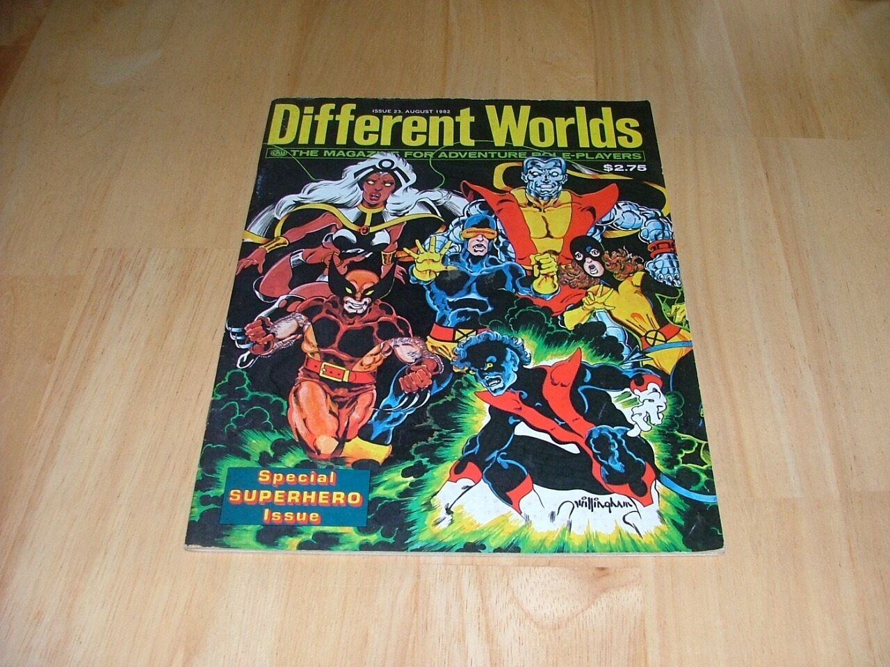 Different Worlds Magazine RPG CHAOSIUM Issue 23 August 1982  Extremely Rare