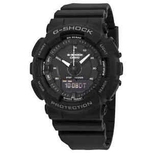 Casio-G-Shock-S-Series-Black-Dial-Men-039-s-Analog-Digital-Watch-GMAS130-1A