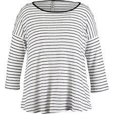 Nocozo Womens Stripe Loose Knit Jumper Size Small BNWT RRP £25 Black & White