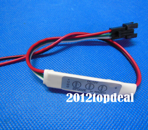 Upgarde WS2812 WS2812B WS2801 More Than 70 Effect Bulit-in Mini Controller 5 12V