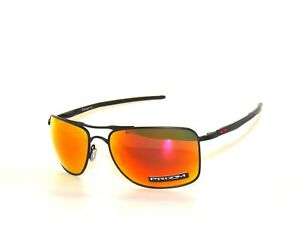 ef1f625aae Oakley Gauge 8 4124-13 Matte Black Prizm Ruby Sunglasses ...