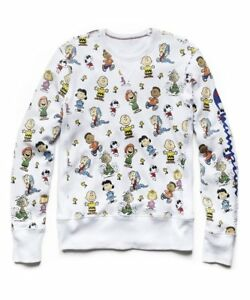 bcb9d6ace4fd5b Todd Snyder Champion Peanuts Gang All Over Crew Sweatshirt MADE IN ...
