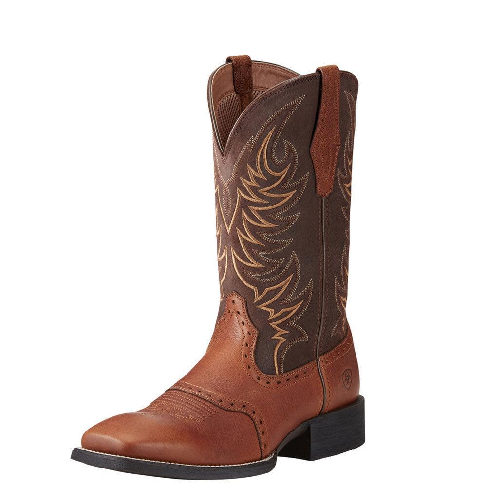 10021683 Ariat Men's Sport Sidewinder Performance Cowboy Boots NEW