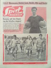 SPORT MAGAZIN KICKER 38 B - 17.9. 1959 * Würzburger Kickers Eisrevue Wiener Blut