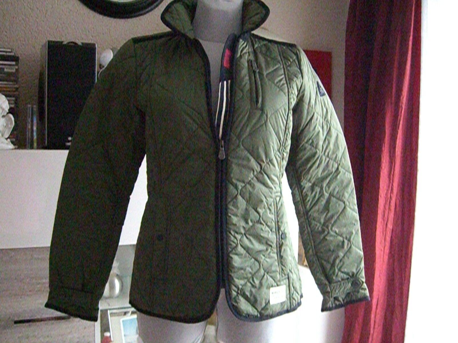 competitive price 1a884 984e5 GAASTRA Damen Jacke Steppjacke M (38) Kapuze 1014 grün oliv ...