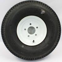 Kenda 5-hole 9 X 4.5 White Trailer Wheel & Tire 6.90/6.00-9 6ply 50696