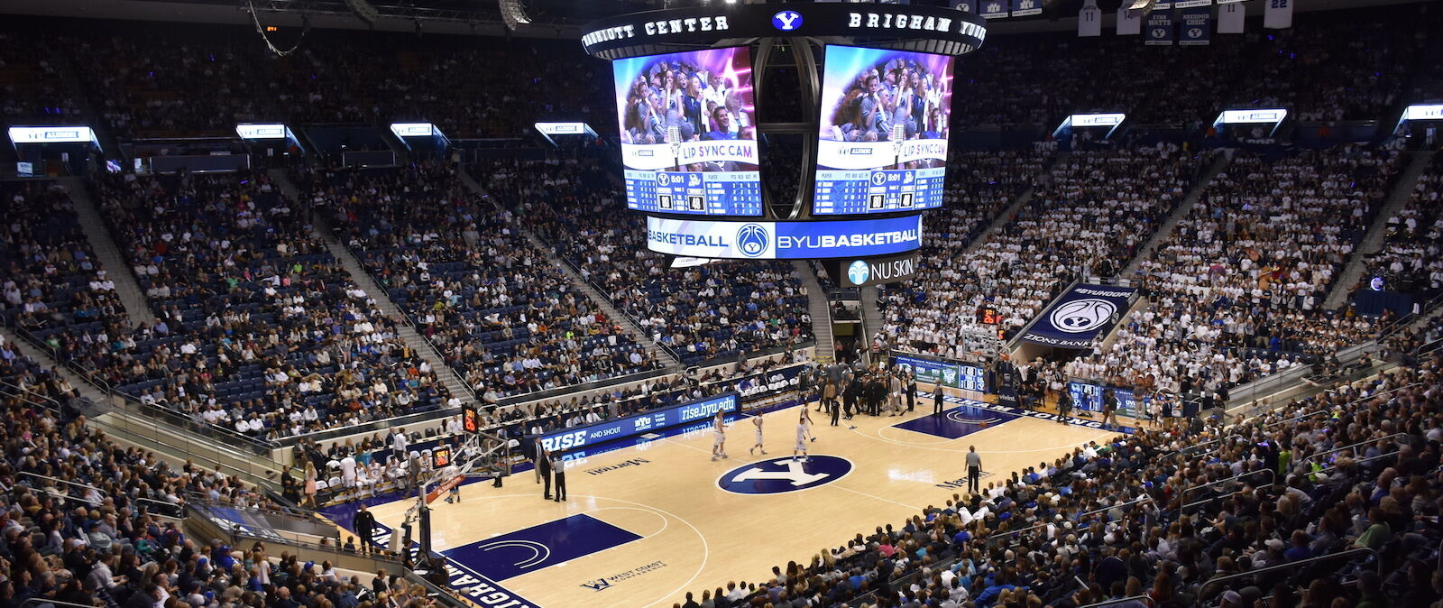 Pacific Tigers at BYU Cougars Basketball