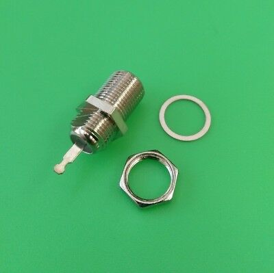 (1 PACK) F-61 CHASSIS MOUNT CONNECTOR - USA Seller