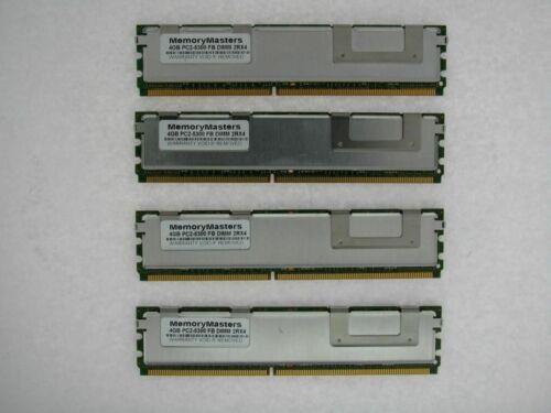 16GB APPLE MAC PRO DDR2 PC2-5300 667MHz ECC FULLY BUFFERED 4X4GB