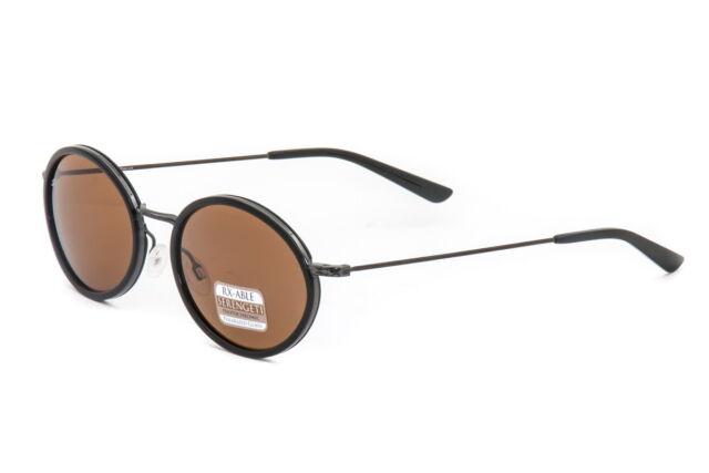 Serengeti Sunglasses Sirolo Sh Black Polarized Drivers 8103 - AUTHORIZED DEALER