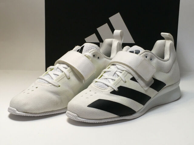 Melodramático Mamut tapa  Mens adidas Adipower 2 Weightlifting Shoes White F99813 Men's Size 9 for  sale online | eBay