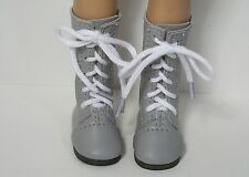 """LT PINK LaceUp Boots Doll Shoes For Dianna Effner 13/"""" Little Darling Debs"""