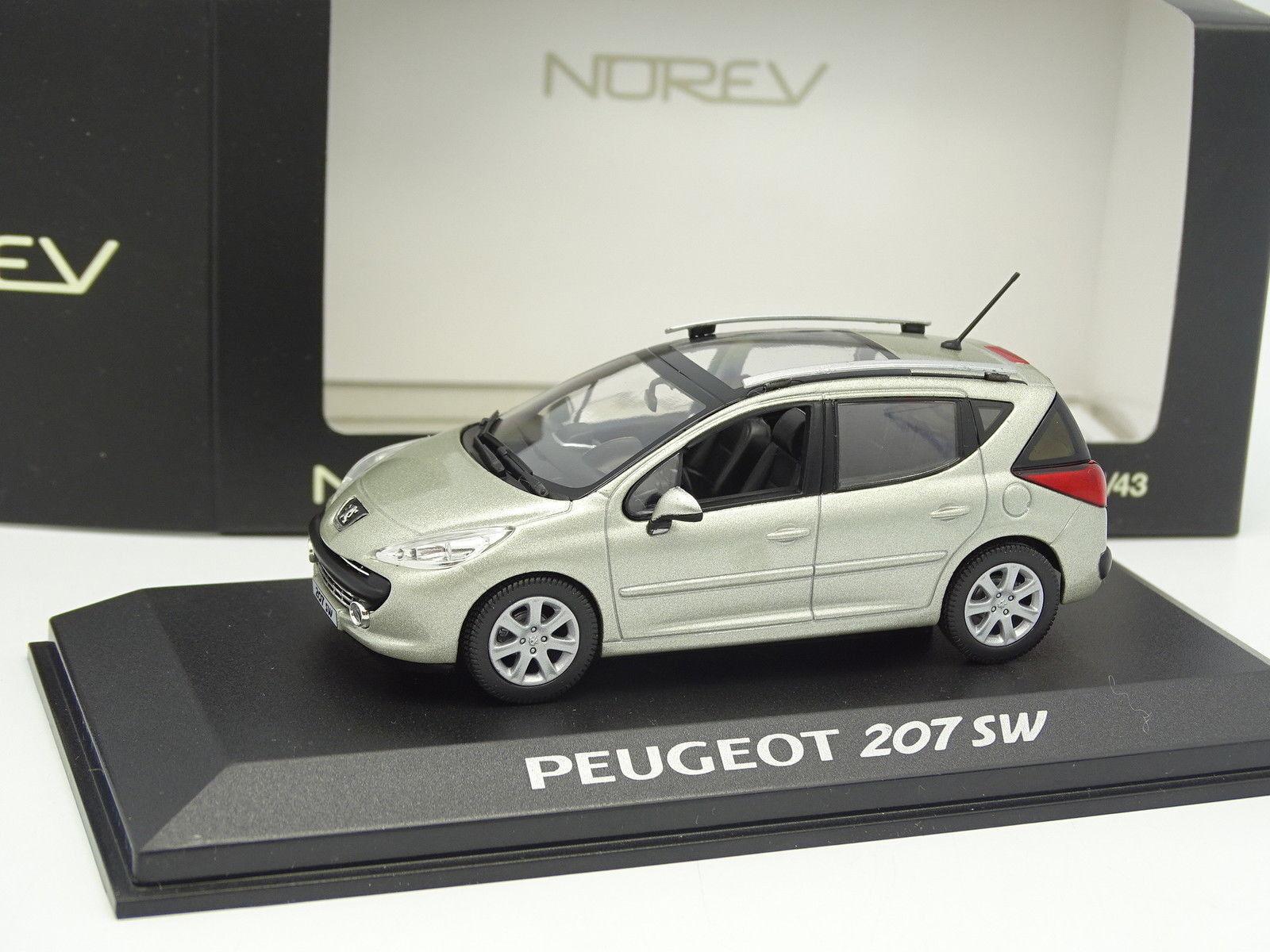 Norev 1 43 - Peugeot 207 SW Beige Métal