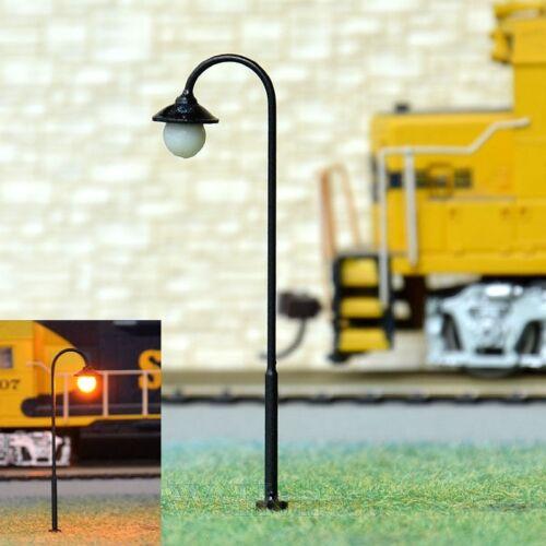 S813-10 Stück Straßenlampen 5,5cm mit LED 12-19V  Parkleuchte Bogenleuchte