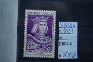 FRANCOBOLLI-FRANCIA-USATI-N-1027-F10384